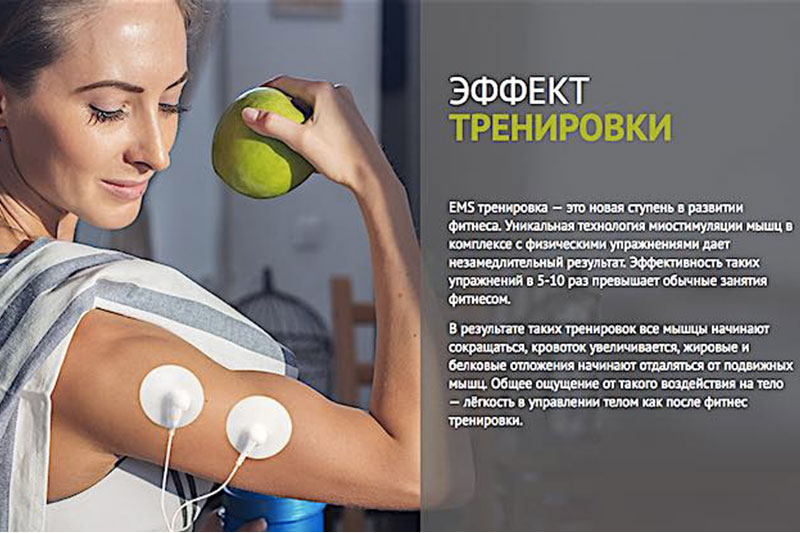 Миостимулятор US MEDICA Body Trainer MIO
